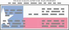 Texas Sales & Use Permit
